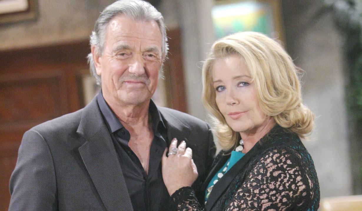 "Melody Thomas Scott, Eric Braeden ""The Young and the Restless"" victor nikki"