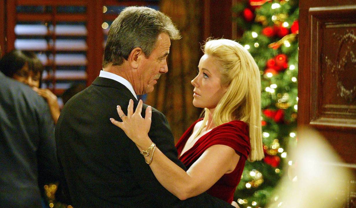"Eric Braeden and Melody Thomas Scott ""The Young and the Restless"" christmas am"