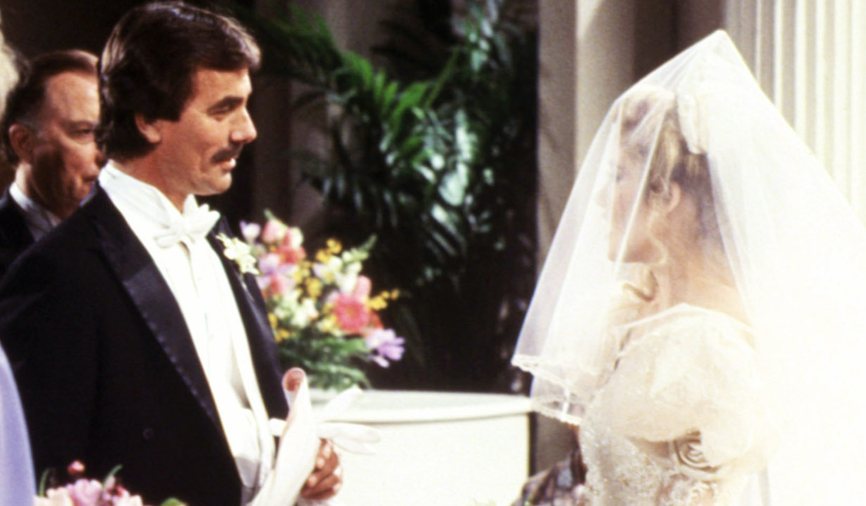 THE YOUNG AND THE RESTLESS, wedding nikki victor Eric Braeden, Melody Thomas Scott, (ca. early 1980s), 1973-. © CBS / Courtesy: Everett Collection