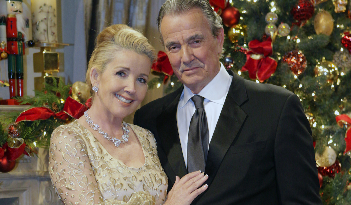 Victor (Eric Braeden) and Nikki Newman (Melody Thomas Scott) renew their wedding vows on New Year's Eve. Don't miss the excitement of Victor and Nikki's vow renewals on THE YOUNG AND THE RESTLESS, Thursday December 28 (12:30-1:30 PM, ET; 11:30 AM-12:30 PM, PT). Photo: Sonja Flemming/CBS ©2017 CBS Broadcasting, Inc. All Rights Reserved