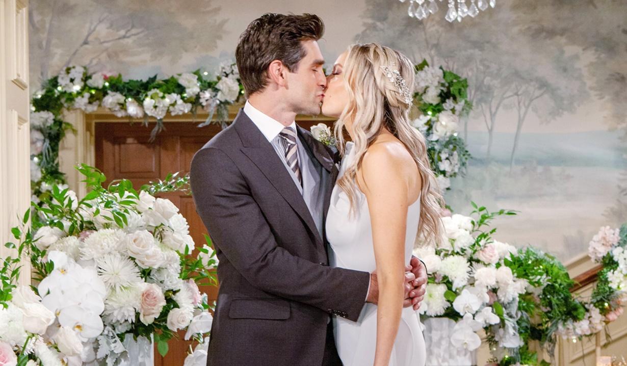Abby, Chance wedding kiss Y&R
