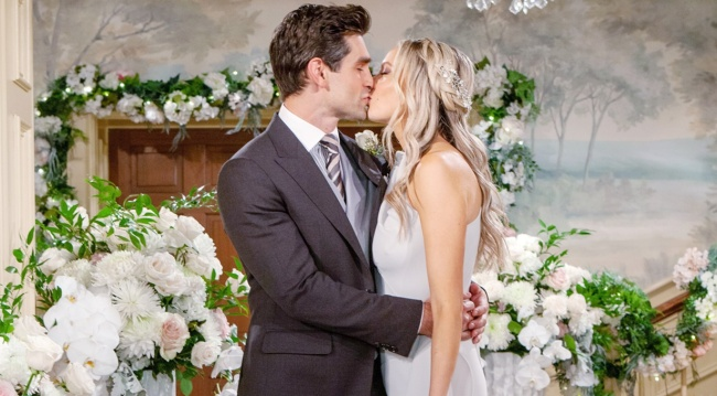 Abby, Chance wedding kiss Y&R