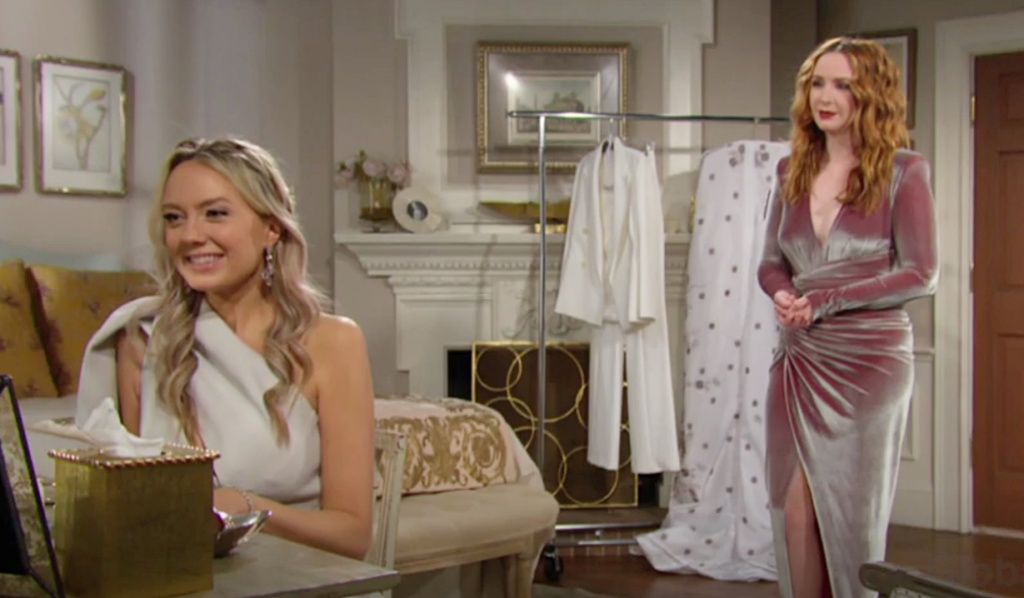 Abby, Mariah bedroom Y&R