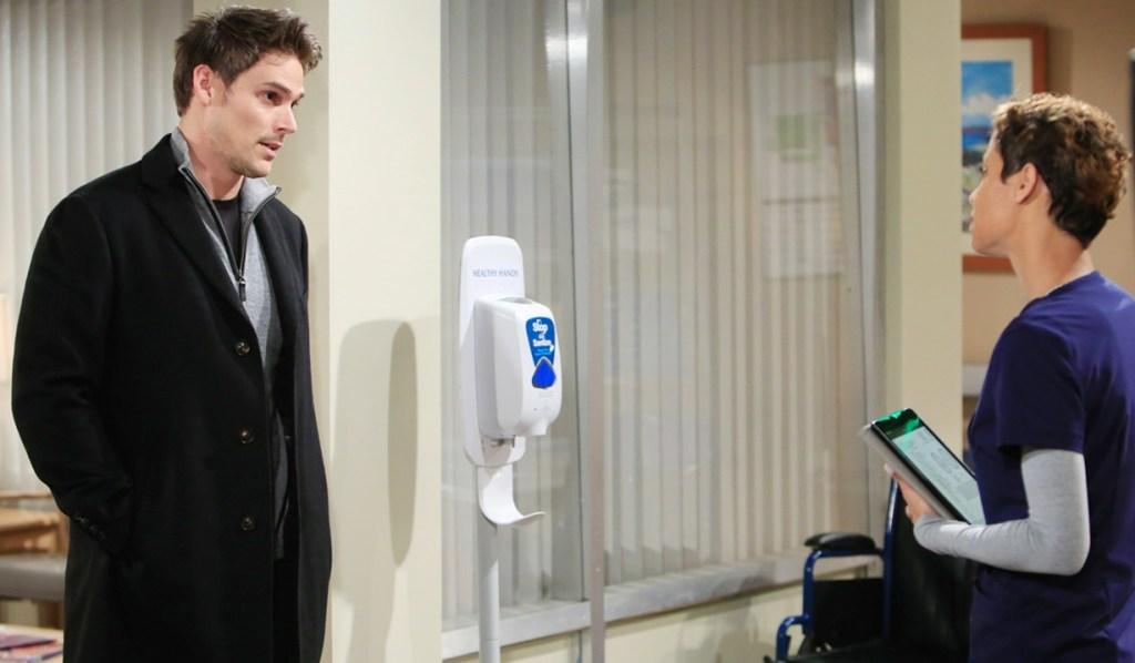 Adam, Elena hospital Y&R