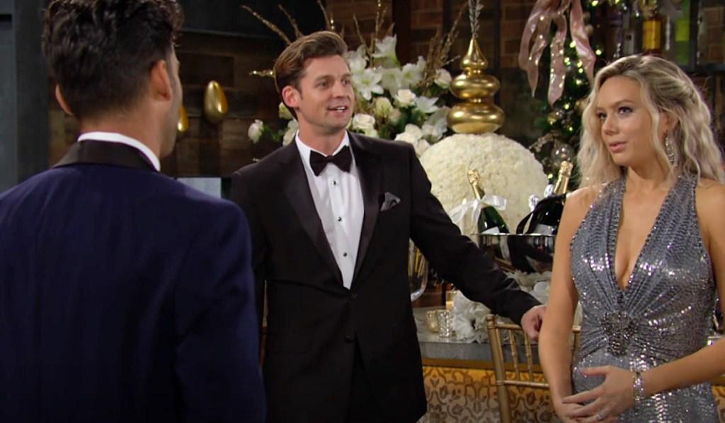 Arturo, Chance, Abby wedding Y&R