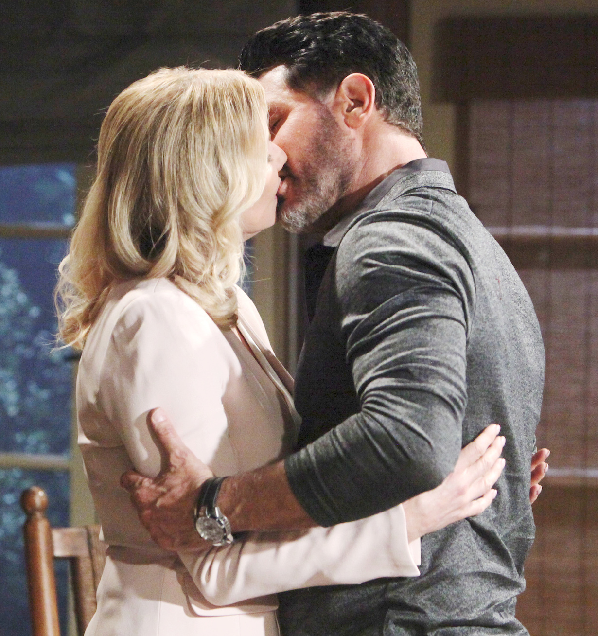 "Katherine Kelly Lang, Don Diamont ""The Bold and the Beautiful"" Set CBS Television City Los Angeles, Ca. 01/24/20 © Howard Wise/jpistudios.com 310-657-9661 Episode # 8288 U.S.Airdate 03/06/20"