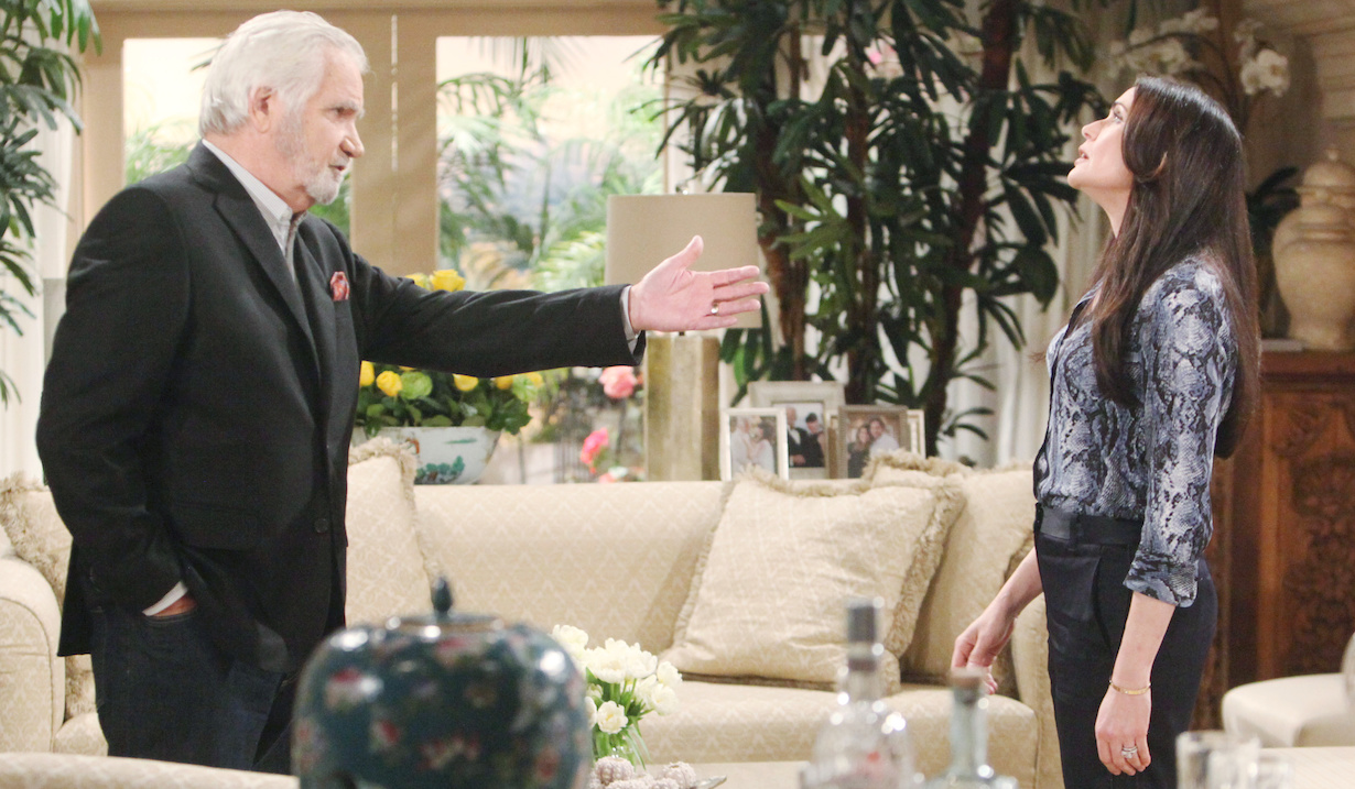 "John McCook, Rena Sofer""The Bold and the Beautiful"" SetCBS Television CityLos Angeles, Ca.12/11/19© Howard Wise/jpistudios.com310-657-9661Episode # 8261U.S.Airdate 01/22/20"