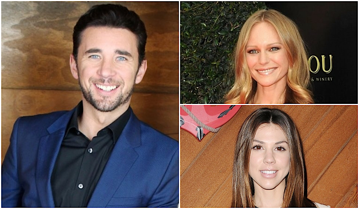 Billy Flynn, Marci Miller, Kate Mansi on Days of Our Lives