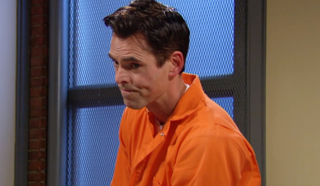 Billy orange jumpsuit Y&R