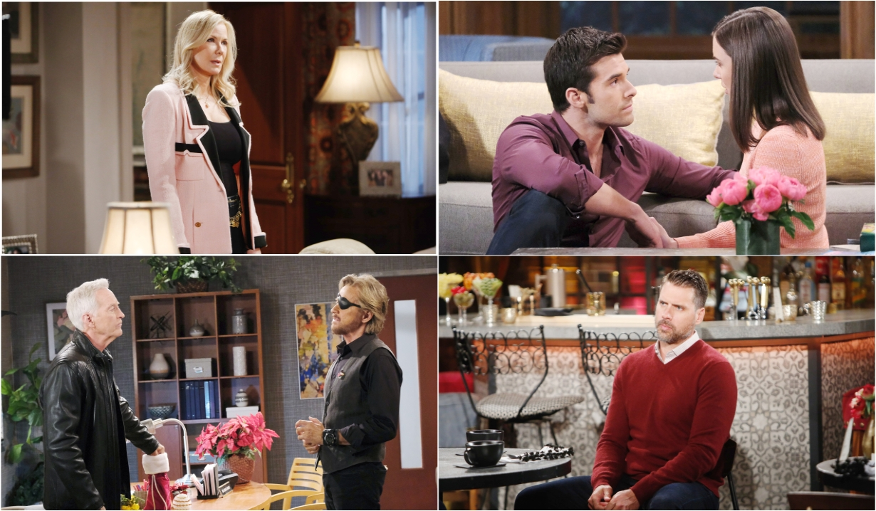 12-28-20 spoilers for bold and beautiful days of our lives general hospital young and restless