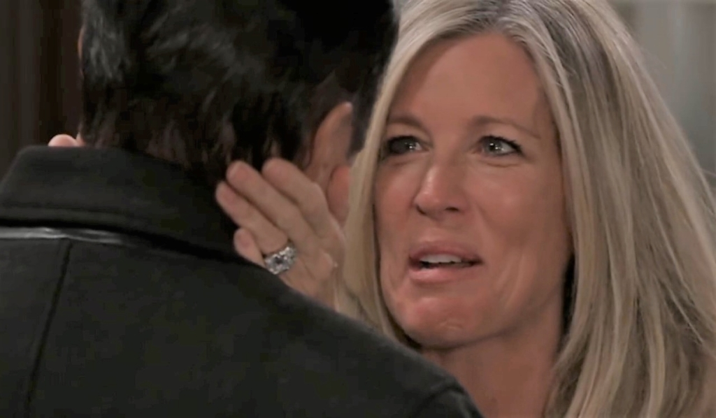 Carly dreams of Sonny General Hospital