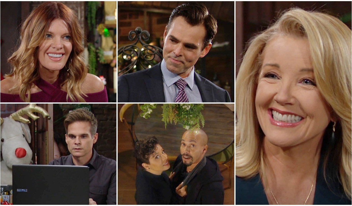 Christmas positives collage Y&R
