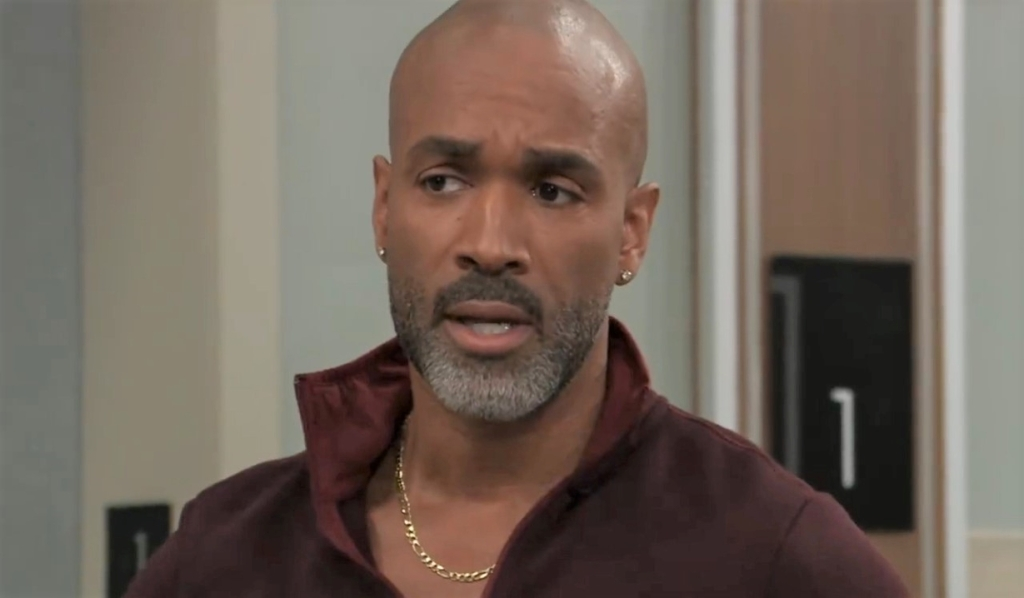 Curtis and Laura discuss his lead at General Hospital