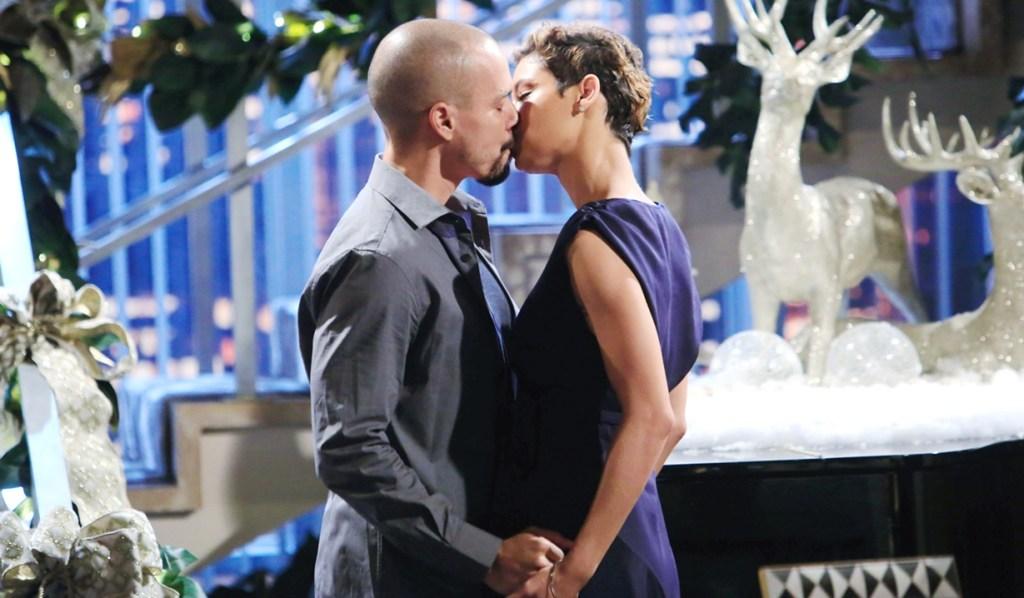 Devon kiss Elena dream Y&R