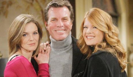 Diane, Jack, Phyllis triangle Y&R