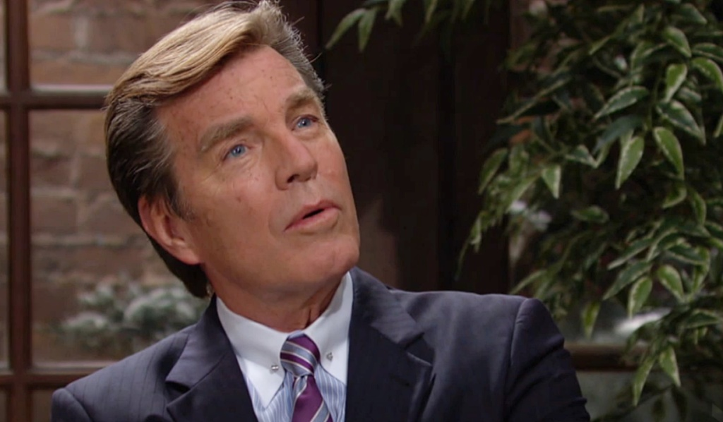 Jack talks to Sally Y&R