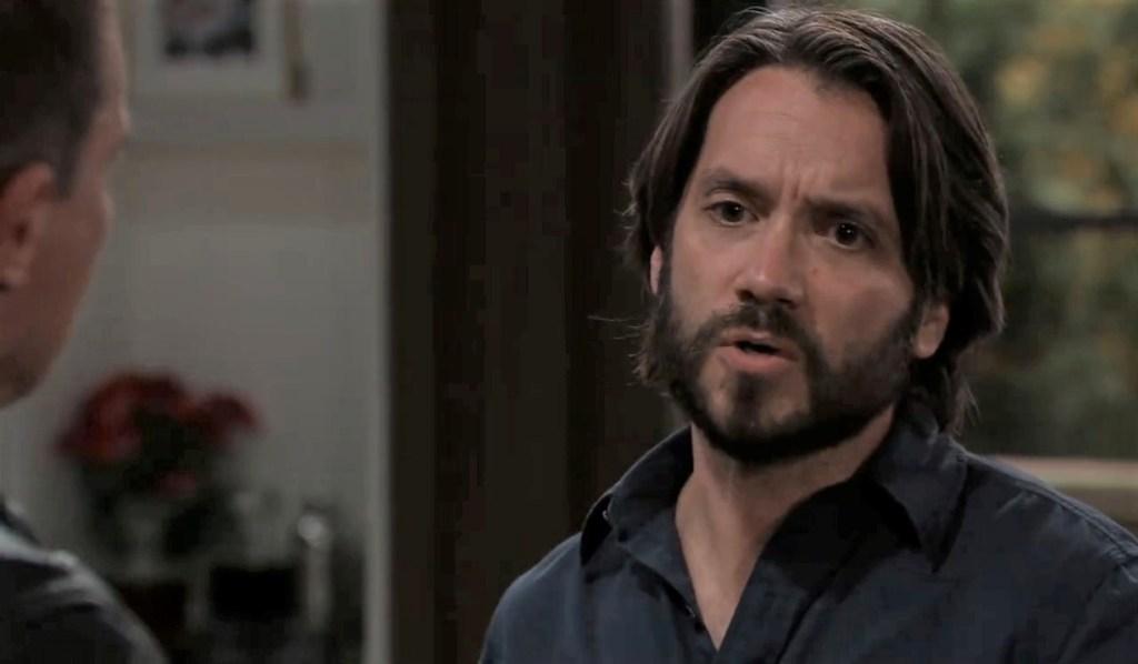 Dante and Jason talk Sonny at Corinthos house General Hospital