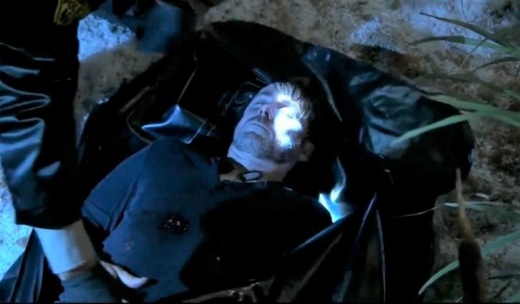 Julian in a bodybag General Hospital