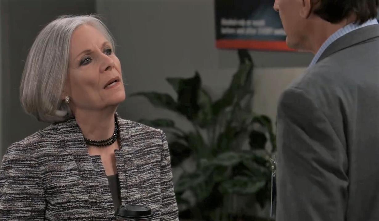 Tracy and Kevin talk loss at General Hospital