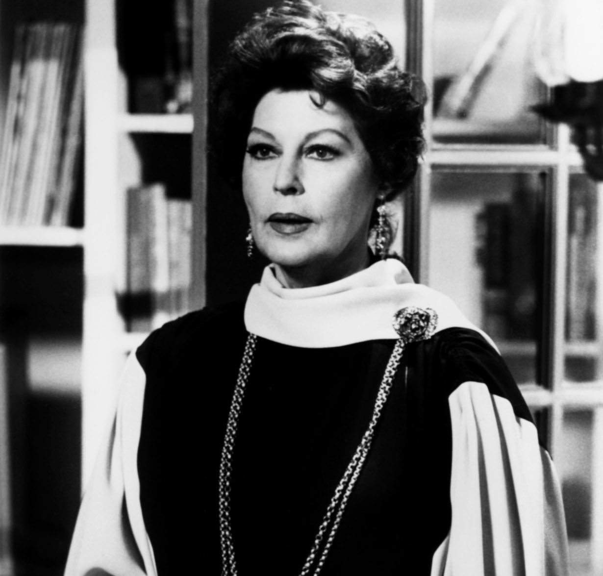 KNOTS LANDING, Ava Gardner, episode aired March 22, 1985, ©Lorimar Television/courtesy Everett Collection