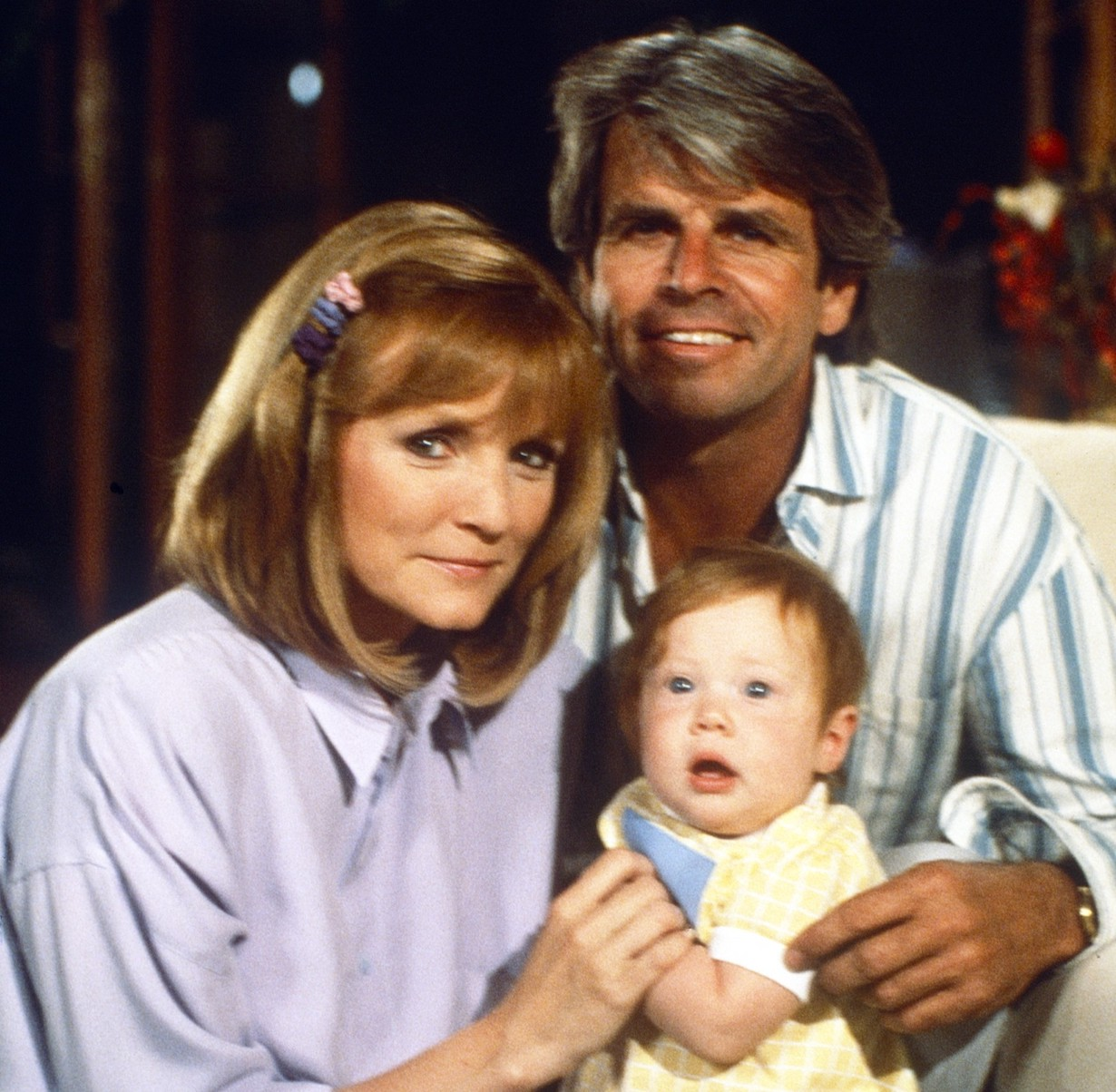 KNOTS LANDING, adults, from left: Constance McCashin, William Devane, (1987), 1979-1993. © CBS /Courtesy Everett Collection