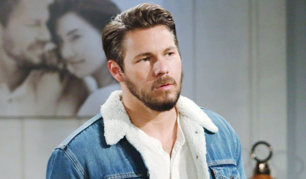 Liam debates with Steffy B&B