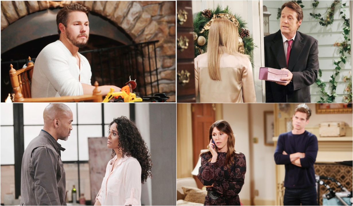 12-21-20 spoilers for bold and beautiful days of our lives general hospital young and restless