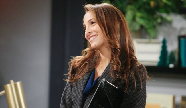 Lily smile office Y&R