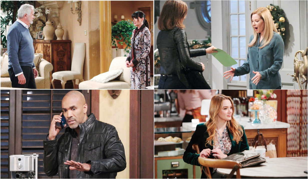 12-14-20 spoilers for bold and beautiful days of our lives general hospital young and restless