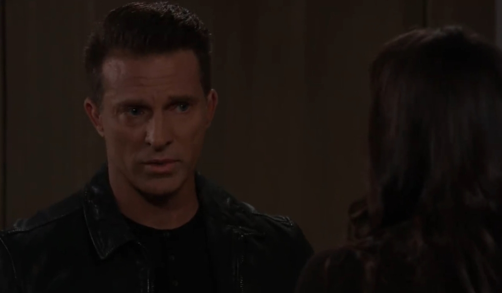 Sam asks Jason to move out at penthouse General Hospital