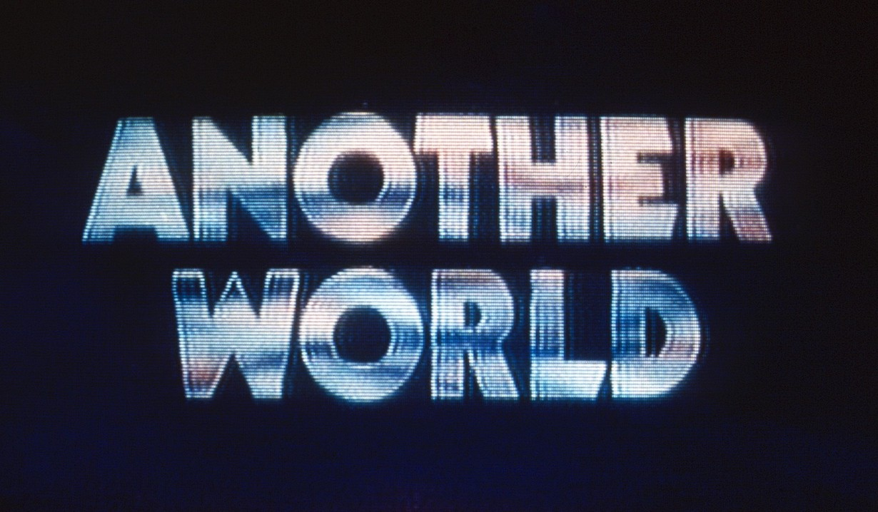 ANOTHER WORLD, logo (1980s), 1964-99. ©NBC/Courtesy Everett Collection