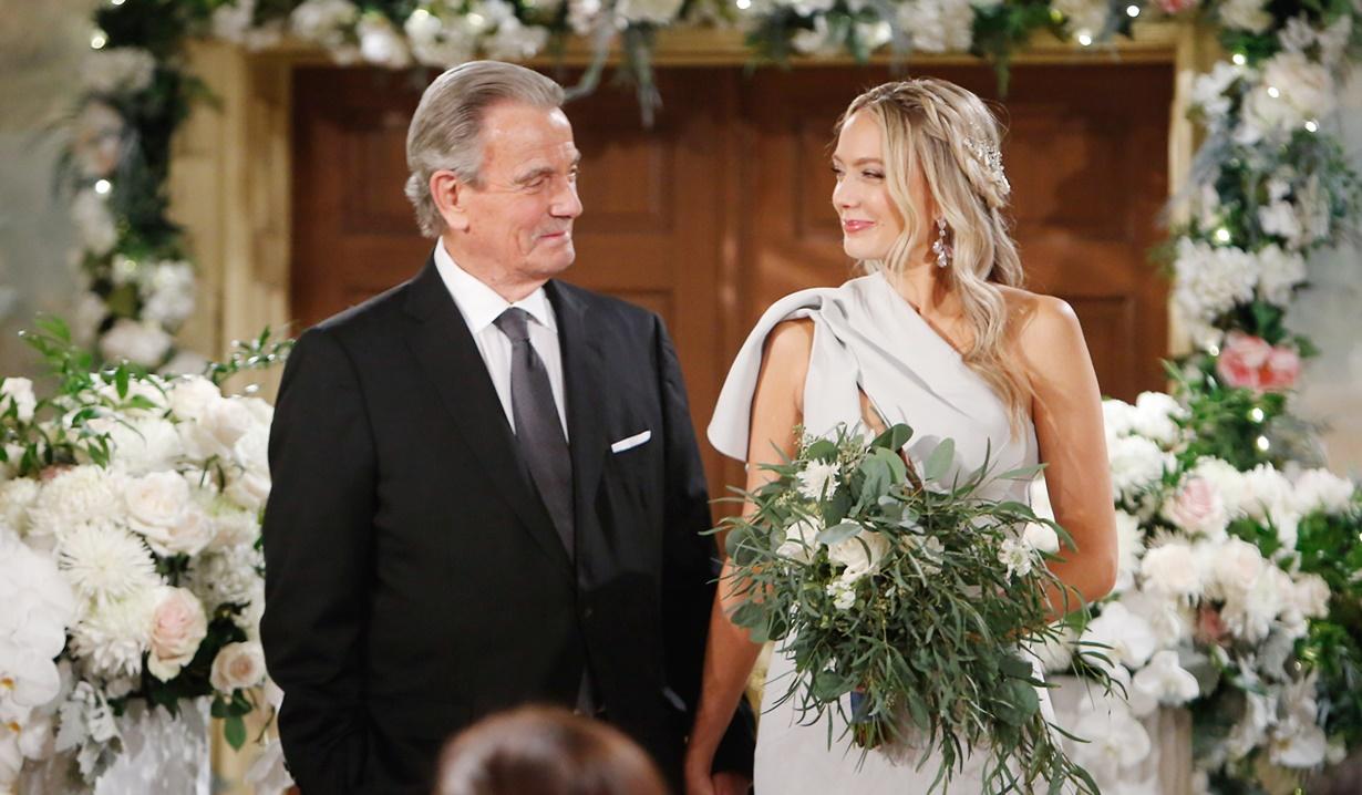 Victor, Abby wedding Y&R