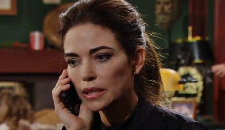 Victoria calls Billy Y&R