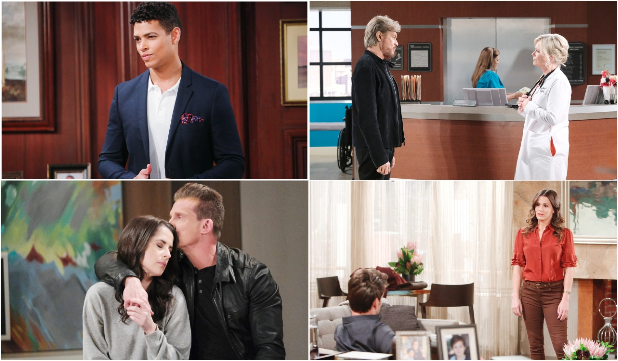 12-7-20 spoilers for bold and beautiful days of our lives general hospital young and restless