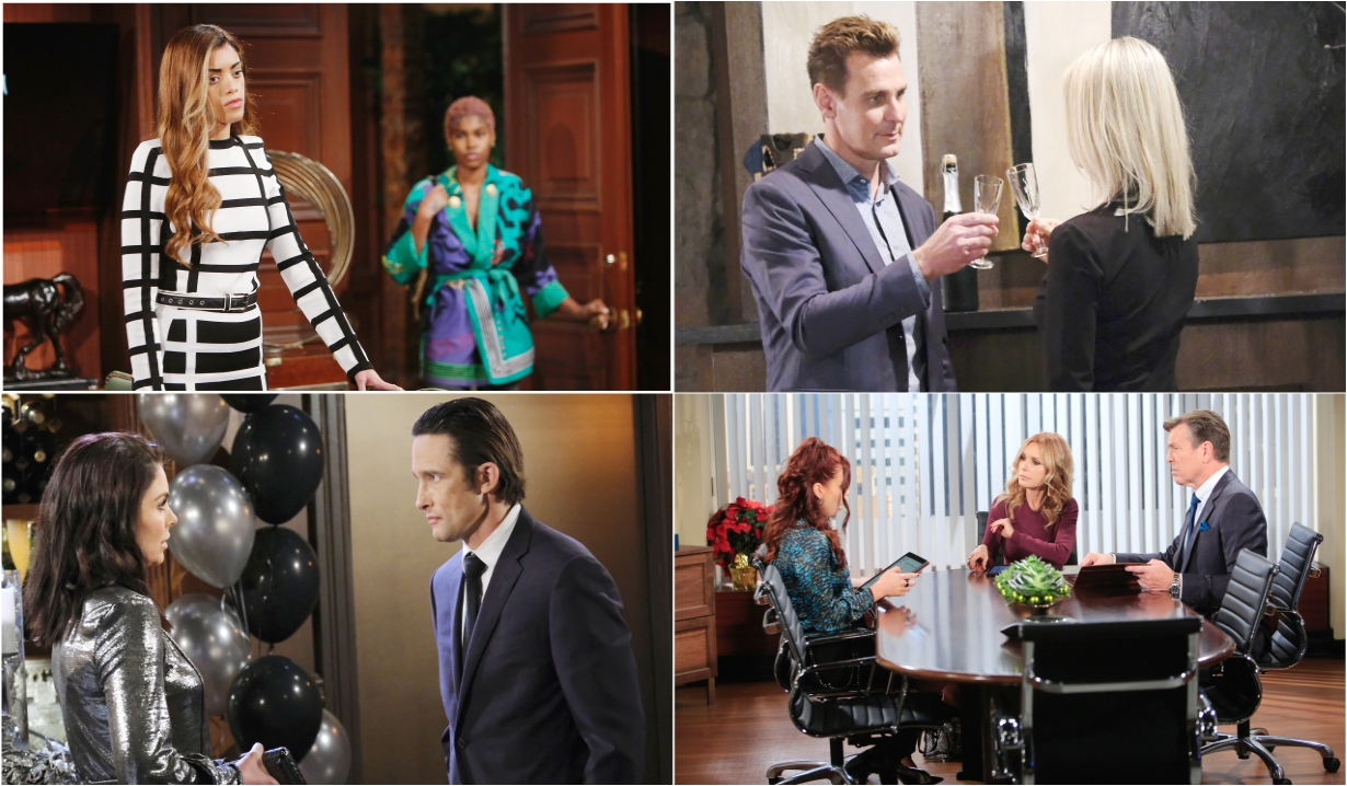 1-4-21 spoilers for bold and beautiful days of our lives general hospital young and restless