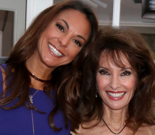 Eva LaRue, Susan Lucci, Jill Larson at a public appearance for ALL MY CHILDREN Reunion on Set of HOME & FAMILY, Universal Studios, Los Angeles, CA February 1, 2017. Photo By: Priscilla Grant/Everett Collection