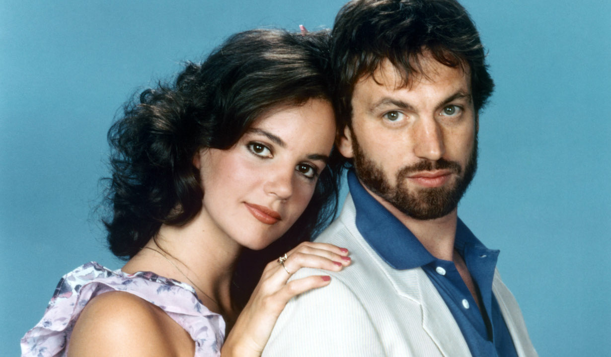 AS THE WORLD TURNS, Margaret Colin, Justin Deas (1982-83), 1956-2010. © CBS / Courtesy: Everett Collection