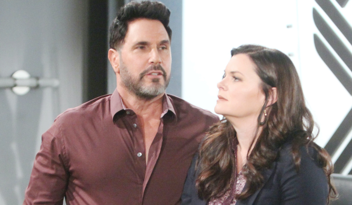 "Don Diamont, Heather Tom katie bill ""The Bold and the Beautiful"" SetCBS Television CityLos Angeles, Ca.01/14/20© Howard Wise/jpistudios.com310-657-9661Episode # 8271U.S.Airdate 02/05/20"