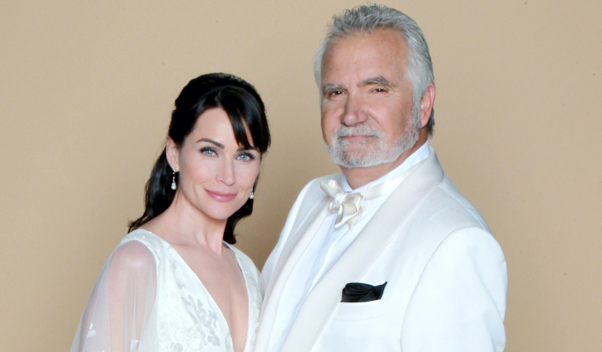 "John McCook, Rena Sofer quinn eric wedding ""The Bold and the Beautiful"" Set Wedding CBS Television CityLos Angeles, Ca.08/29/16© John Paschal/jpistudios.com310-657-9661"