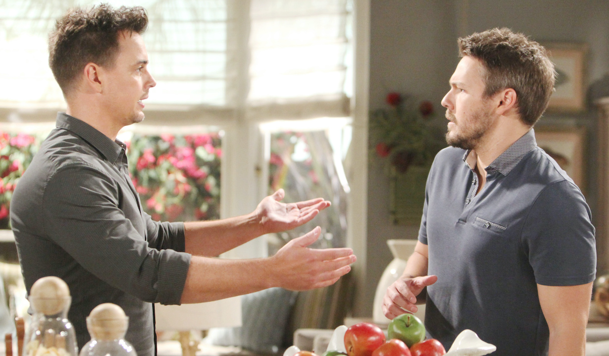 "Scott Clifton, Darin Brooks ""The Bold and the Beautiful"" wyatt liam hw"