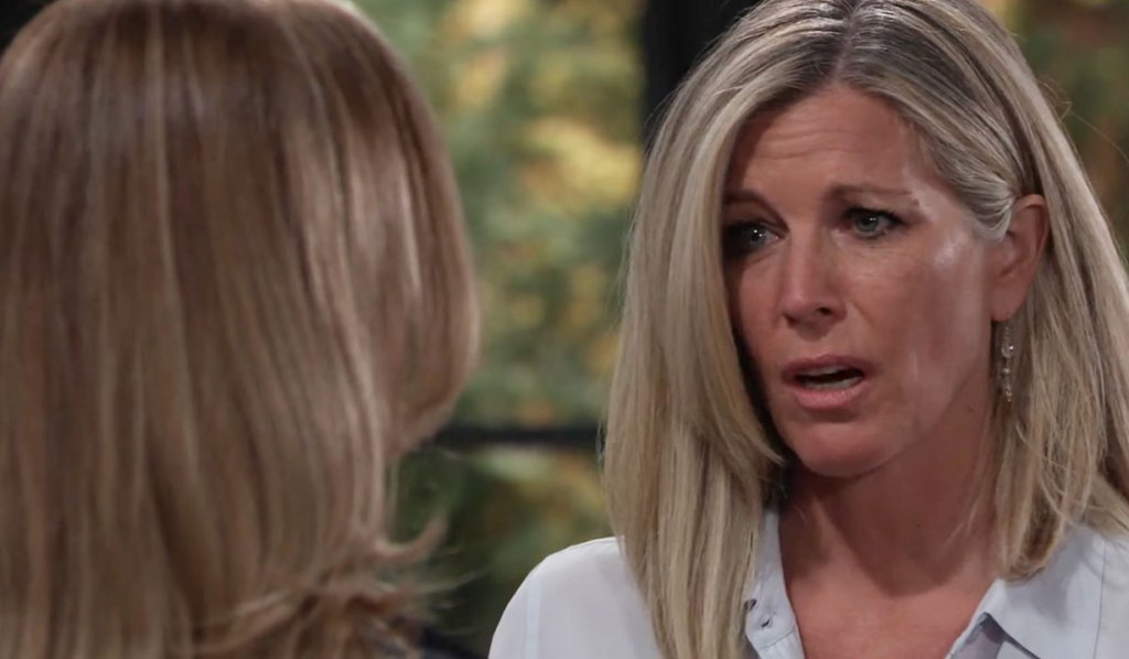 Carly is shocked on GH