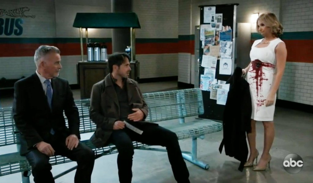 Connie and Duke haunt Julian on GH