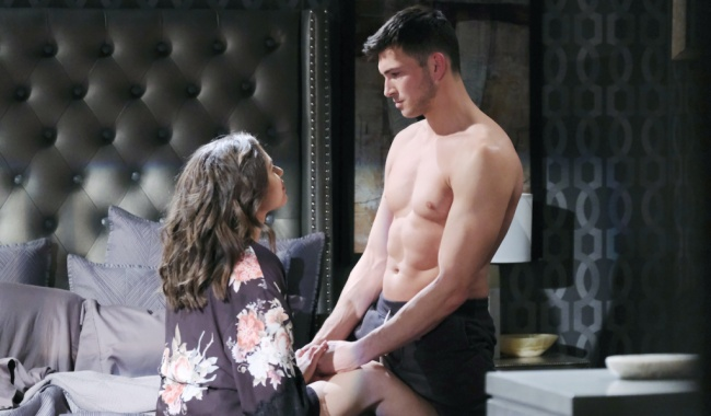 "Robert Scott Wilson, Victoria Konefal""Days of our Lives"" Set NBC Studios Burbank 02/3/19 © XJJohnson/jpistudios.com 310-657-9661 Episode # 13916 U.S.Airdate 08/13/20"