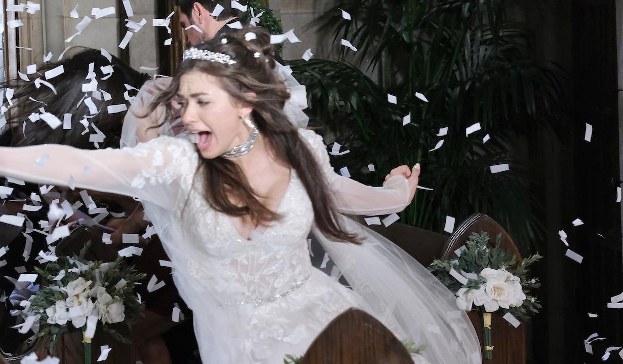"Victoria Konefal ""Days of our Lives"" Set Wedding NBC Studios Burbank 11/13/19 © XJJohnson/jpistudios.com 310-657-9661 Episode # 13900 U.S.Airdate 07/22/20"