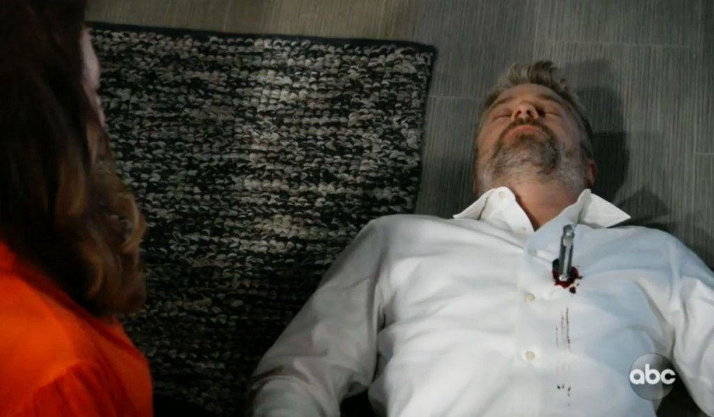 Dr Kirk is dead on GH