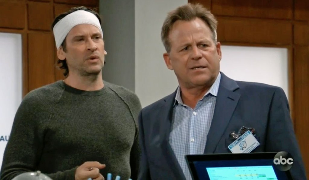 Franco and Scott demand to see the doctor on GH