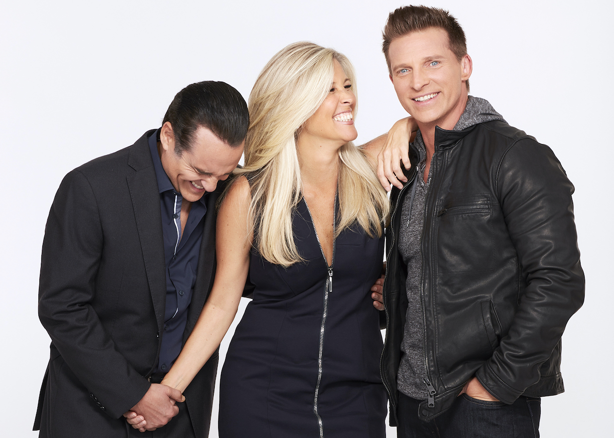 "gh sonny carly jason GENERAL HOSPITAL - The Emmy-winning daytime drama ""General Hospital"" airs Monday-Friday (3:00 p.m. - 4:00 p.m., ET) on the ABC Television Network. GH18(ABC/Craig Sjodin)MAURICE BENARD, LAURA WRIGHT, STEVE BURTON"