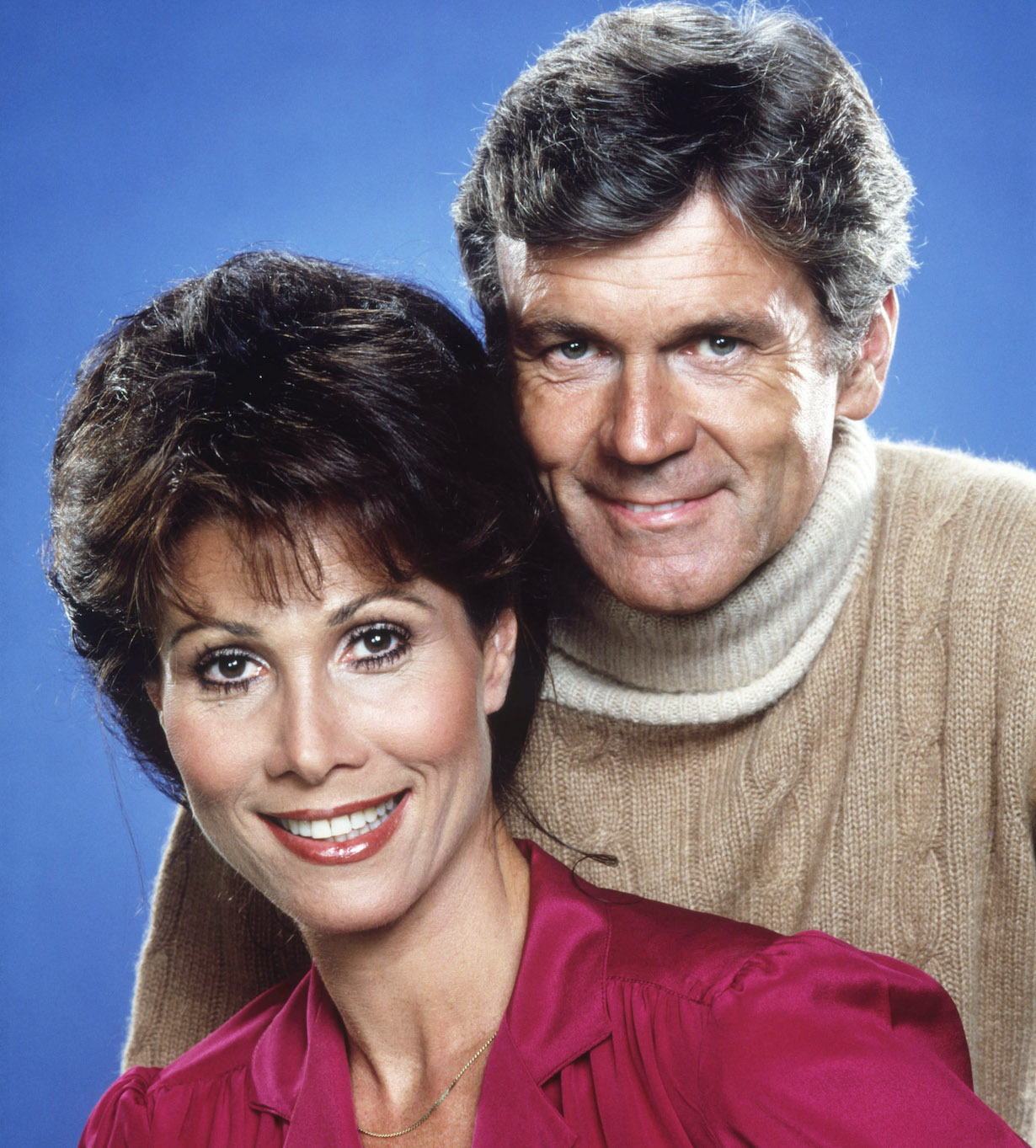 KNOTS LANDING, from left: Michele Lee, Don Murray, 1979-93.