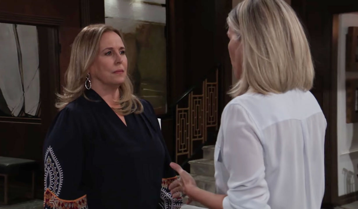 Laura meets with Carly on GH