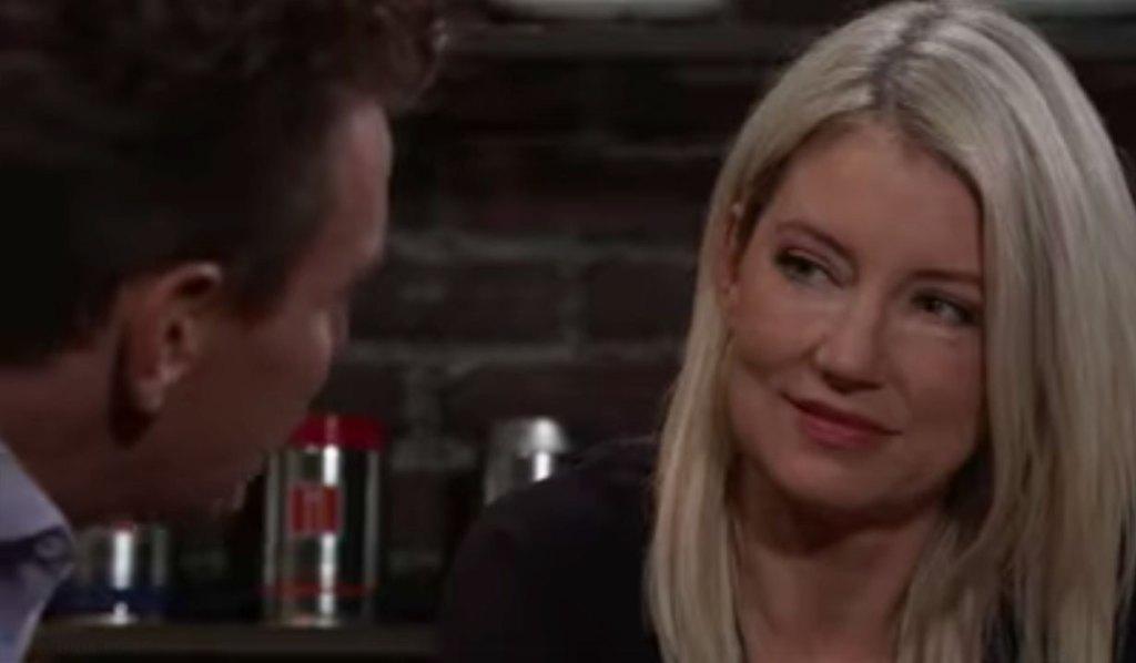 Jax and Nina talk on GH